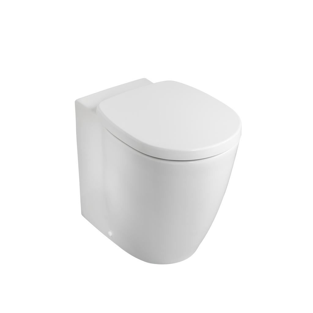Ideal Standard Concept Cube back to wall toilet, slow close seat ...