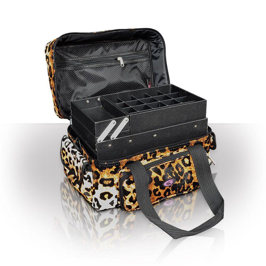Amazon leopard beauty case beauty cases cosmetic