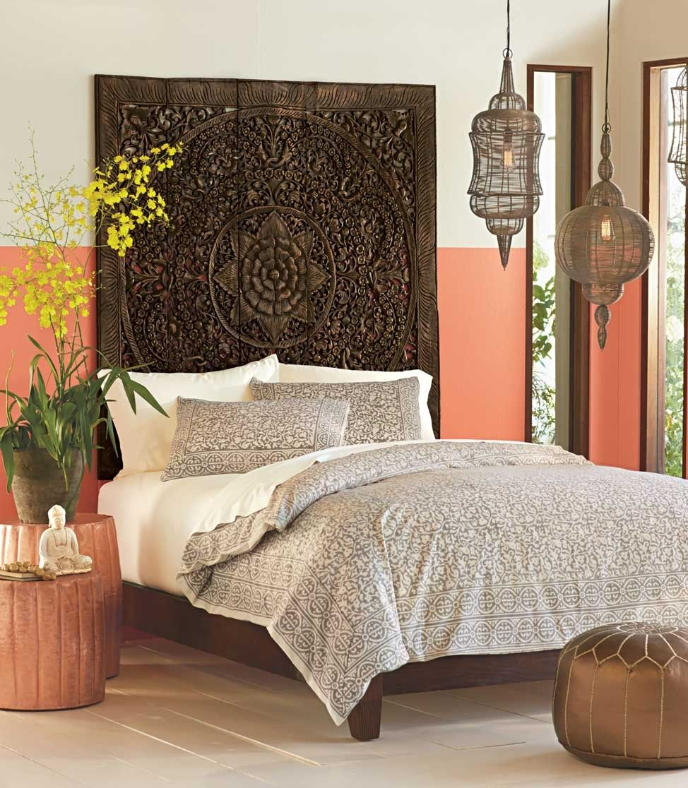 Teak Lotus Bed Collection | Lotus, Platform bed frame and Teak