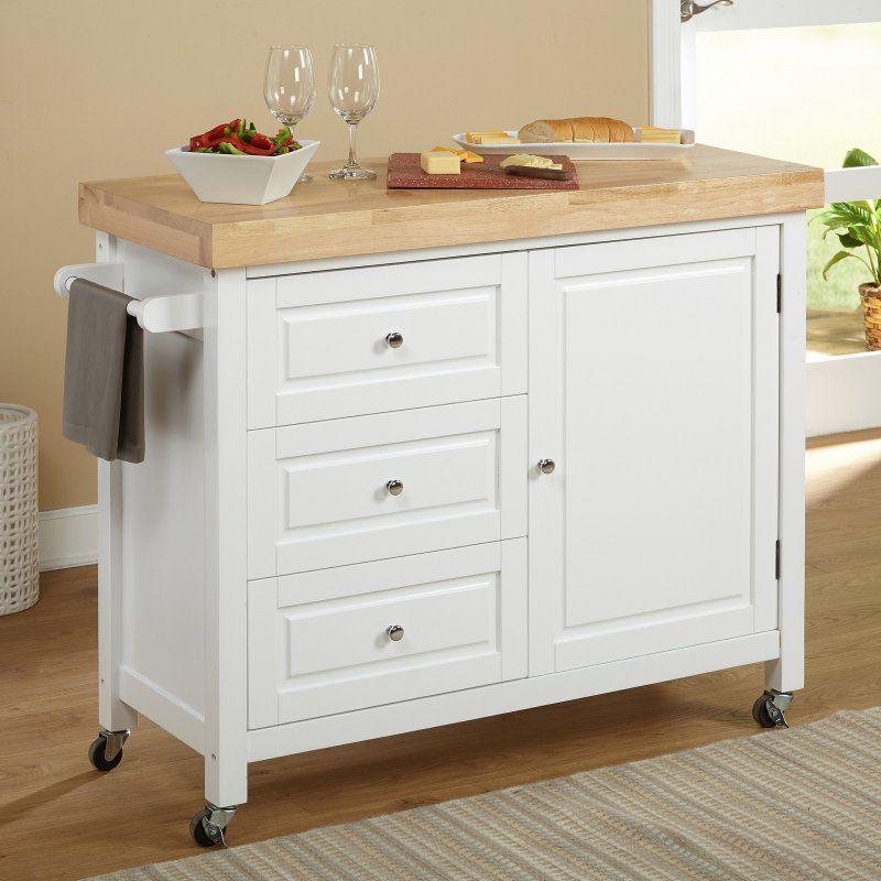 Superieur Target Marketing Systems Monterey Kitchen Cart   20550ESP