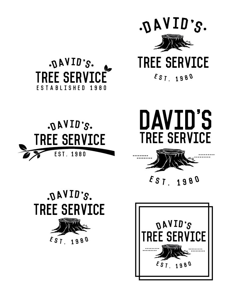 Logo Concepts For Tree Service Company Stoneblueproductions Com Tree Service Logo Concept Company Logo Design