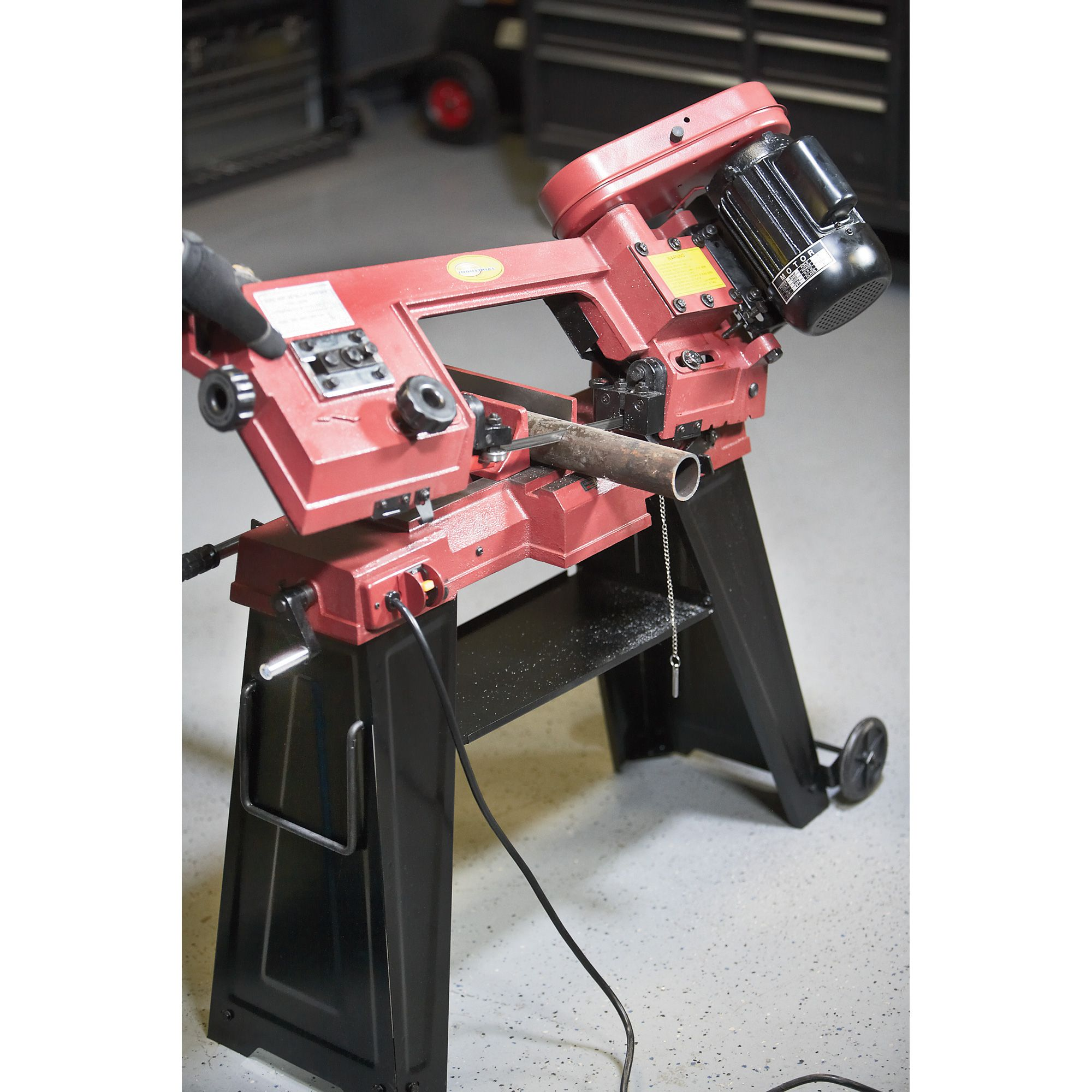 northern industrial tools horizontal vertical metal cutting band saw