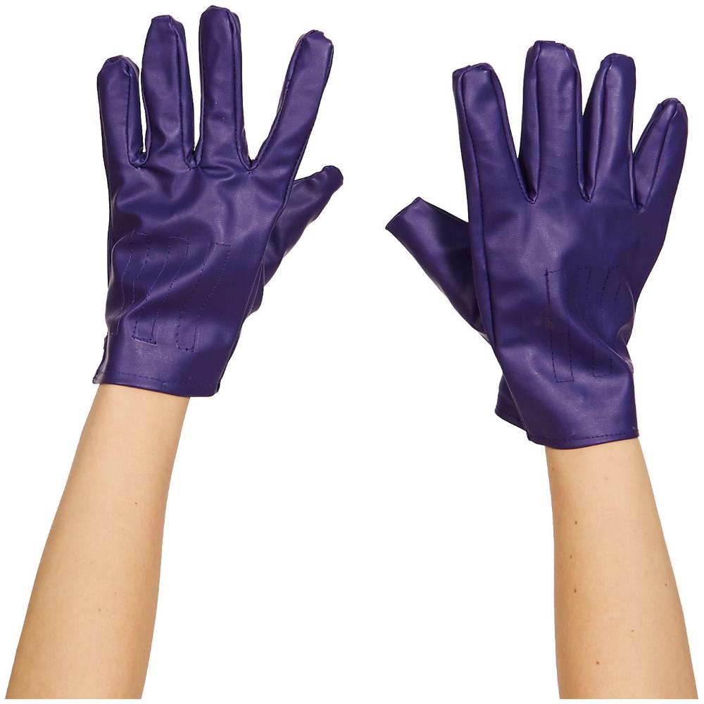 Adult Joker Gloves Batman Dark Knight Suicide Squad DC Comics Halloween Costume