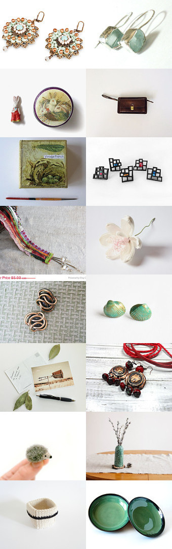 Spring Celebration by Shlomit on Etsy--Pinned with TreasuryPin.com