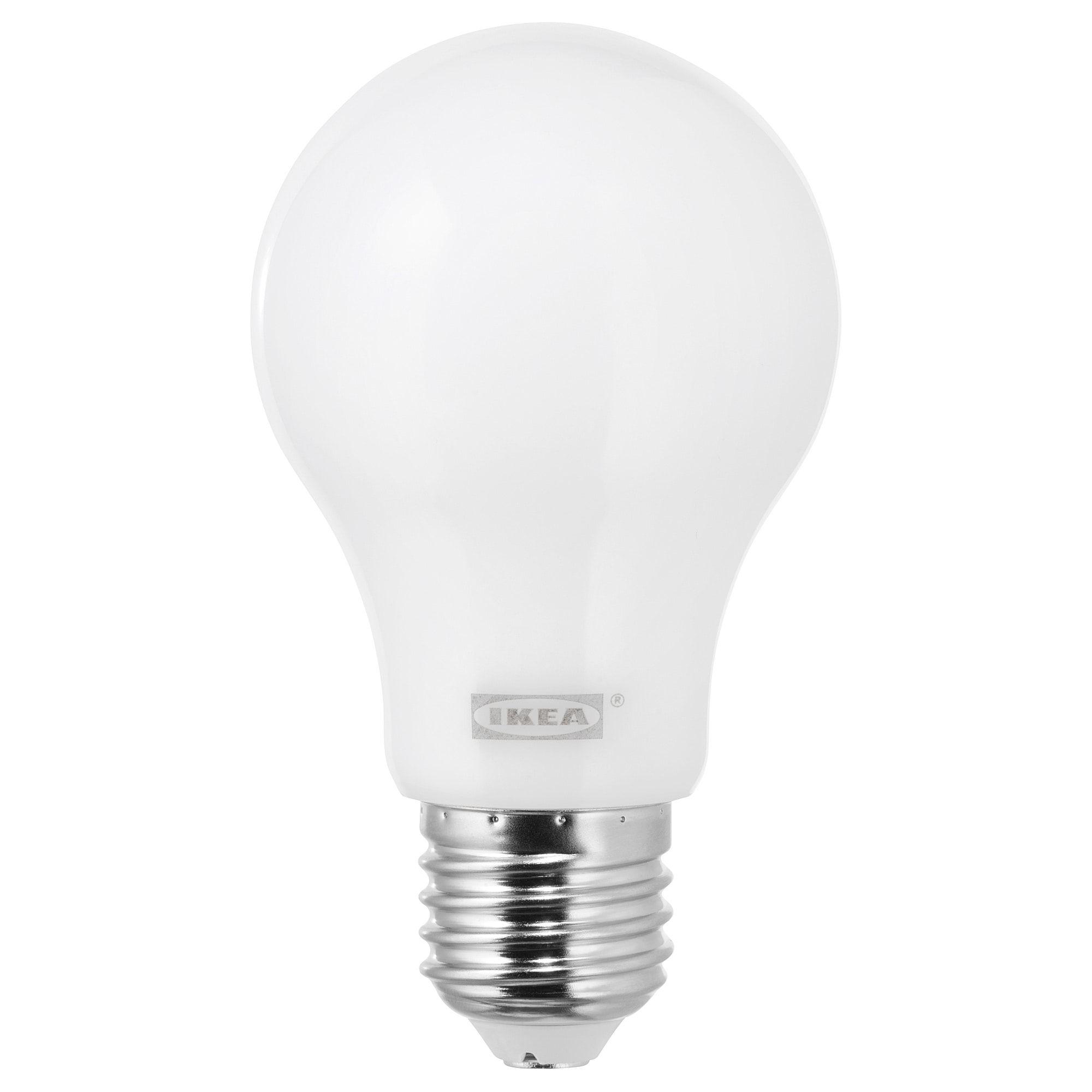 Ledare Led Leuchtmittel E27 600 Lm Dimmbar Dimmbar Warm Rund Opalweiss Ikea Osterreich Led Leuchtmittel Ikea Led Leuchtmittel