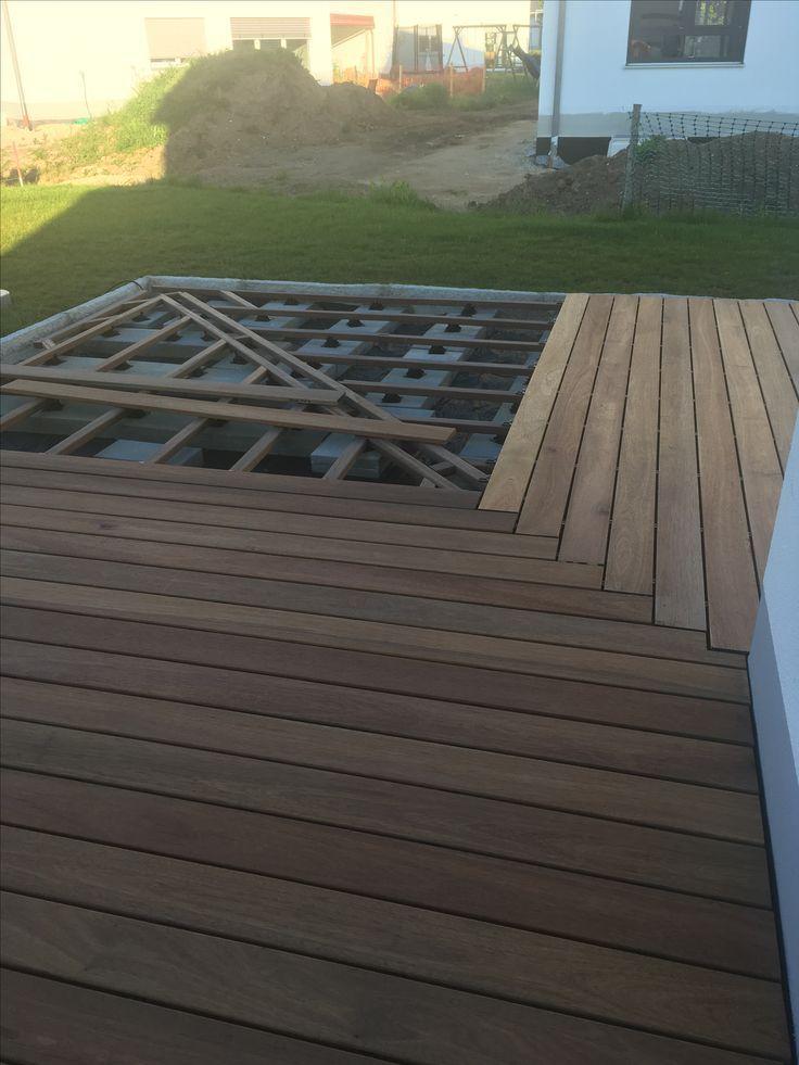 Podest Balkonentwurf Hinterhof Terrasse Hinterhof Designs
