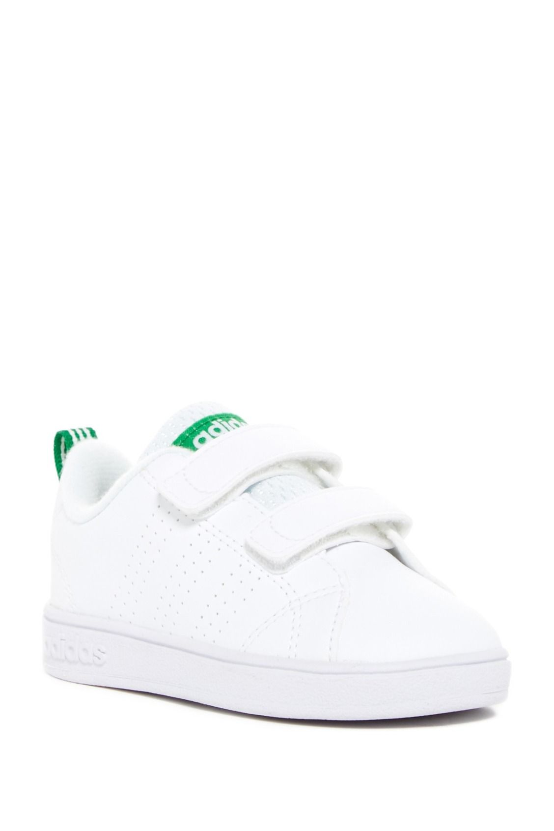 c8536e267fb Obsessed! adidas VS Advantage Clean Sneakers for baby | For the ...