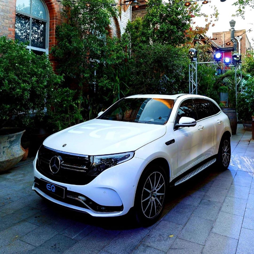 The Brand New Mercedes Benz Eqc 400 4matic 408 Hp 300 Kw 765 Nm Range More 450 Km Charge Time In 40 Min From 10 80 Perc Mercedes Benz New Mercedes Mercedes