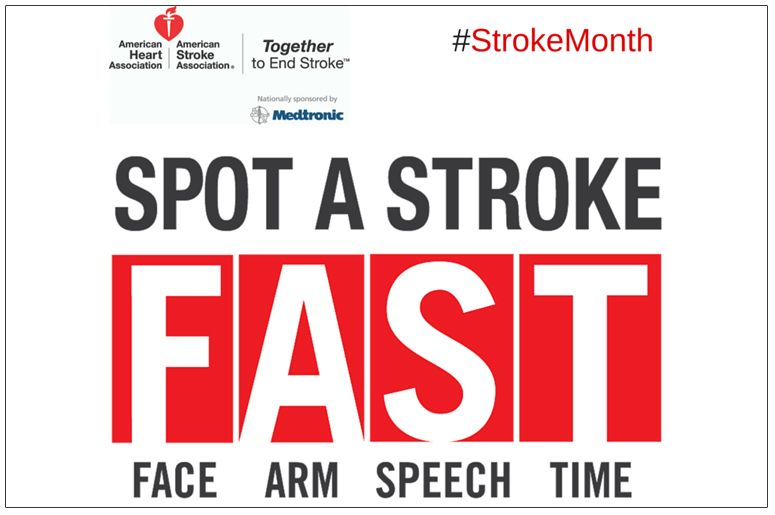 May Is American Stroke Month Stroke Awareness Prevention Strokes