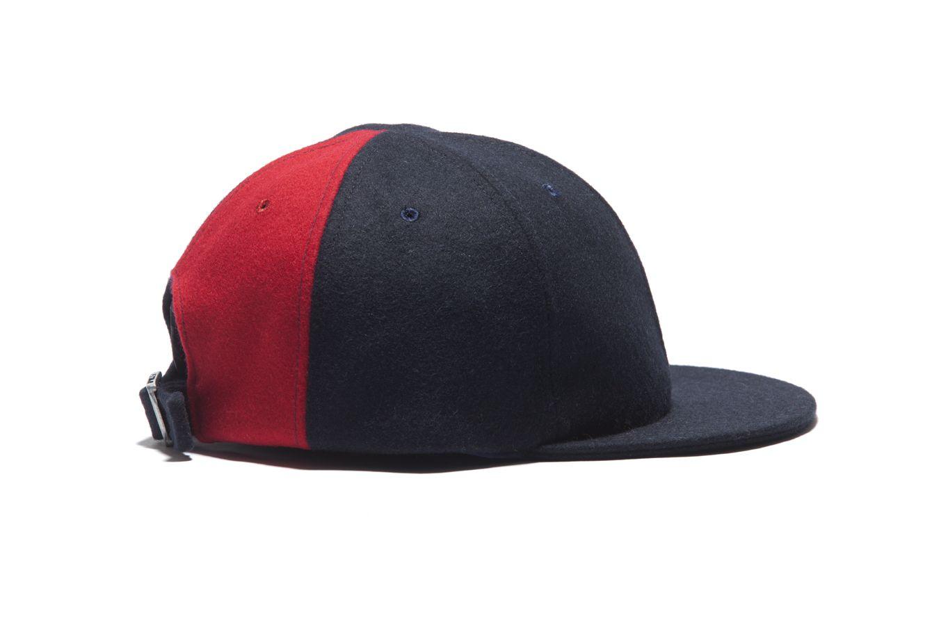 Larose Paris Navy/Red Colorbloc Baseball FW15 #LaroseParis #MadeInFrance #Red #Navy #Baseball