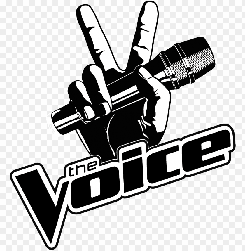 The Voice Logo Logo The Voice Vector Png Image With Transparent Background Png Free Png Images The Voice Facebook Logo Png Transparent Background