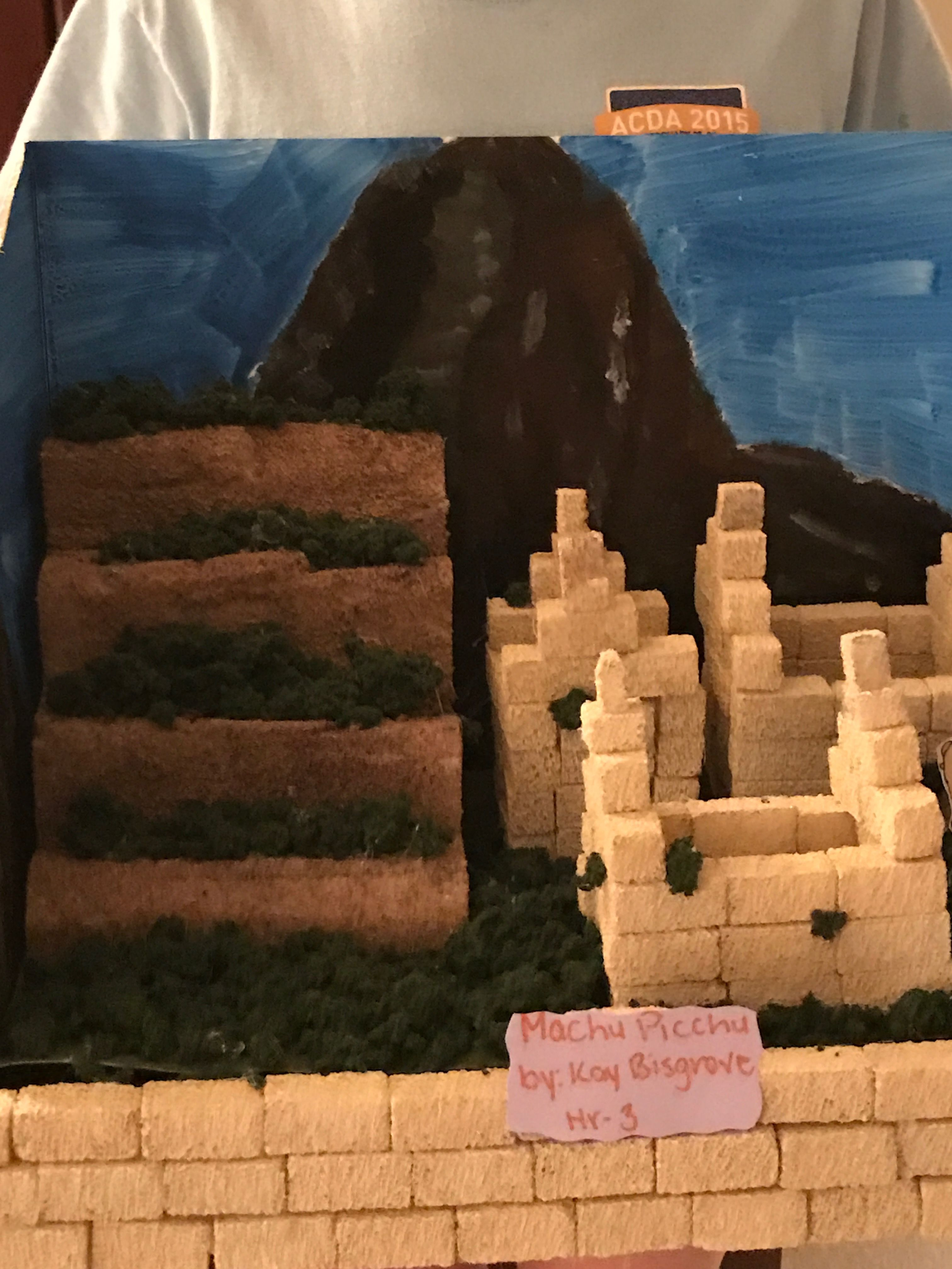 Machu Picchu Kids 3d Project