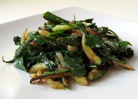 Cook Food. Mostly Plants.: Sauteed Zucchini and Spinach