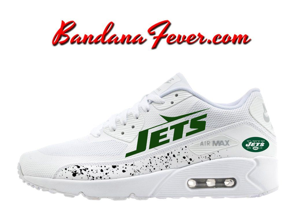 Custom Jets Nike Air Max 90 Shoes Ultra