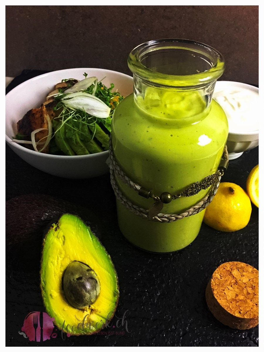 Avocado - Joghurt Dressing