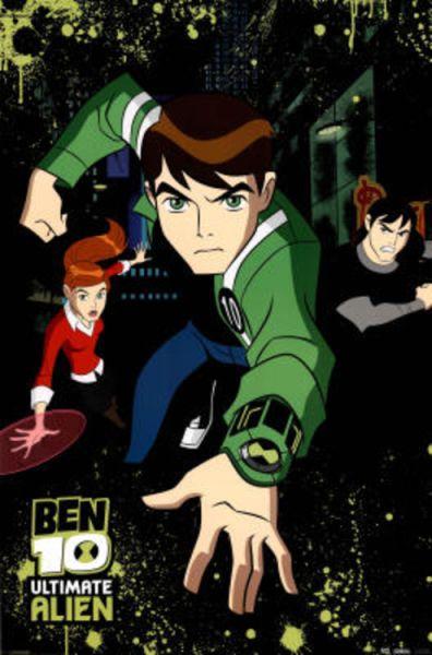Ben 10 Ultimate Alien Tv Poster Print 24 X 36in Ben 10 Ben 10 Ultimate Alien Ben 10 Omniverse