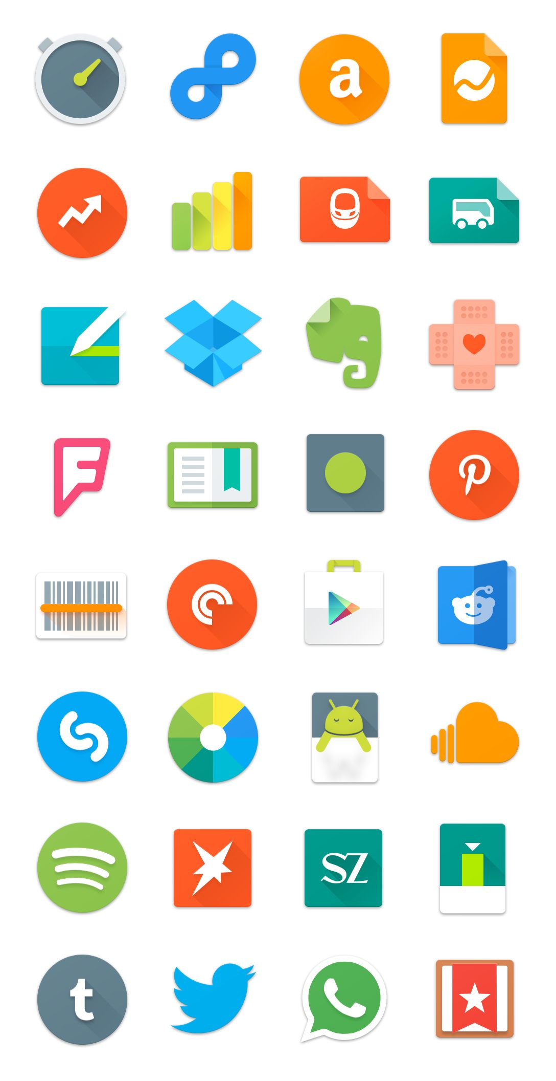 Android Lollipop Icon Set by TinyLab on DeviantArt