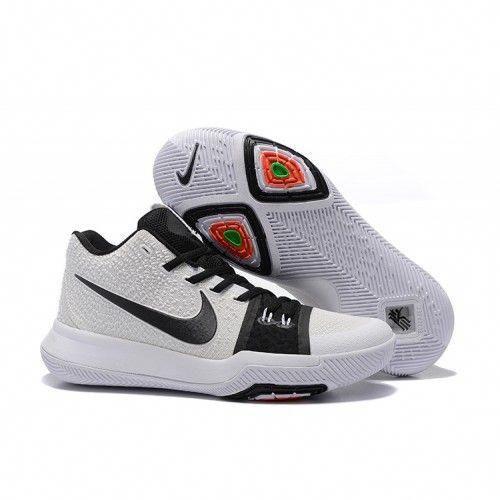 d1fa795f485e Nike Kyrie 3 EP Mens Basketball Shoes White Black  basketballshoes