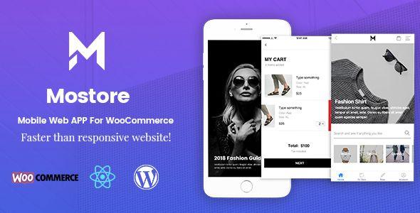 Mostore Mobile Progressive Web App Web app