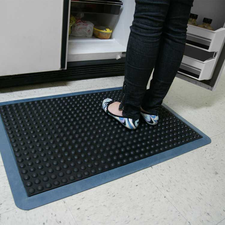 BubbleTop AntiFatigue mat will add comfort to any area