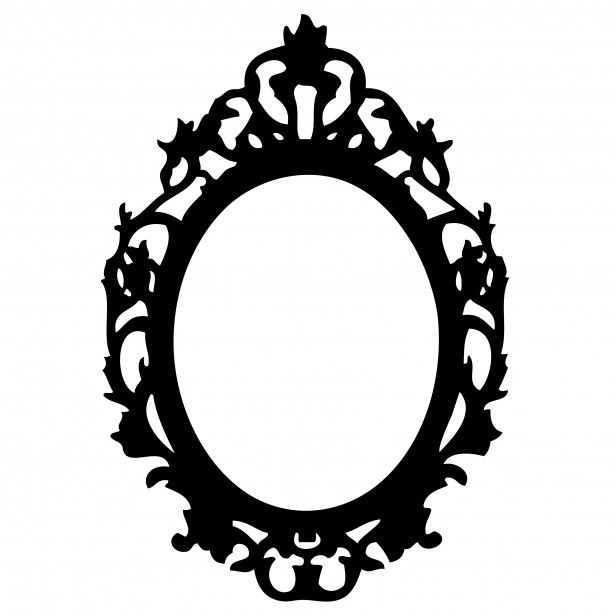 Picture frame clipart  Ornate Black Frame Clipart Free Stock Photo Public Domain Pictures ...