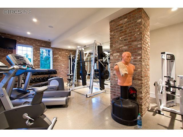 What An Awesome Home Gym Boulder Co Coldwell Banker Real Estate Best Home Gym Home Gym Garage Dream Home Gym