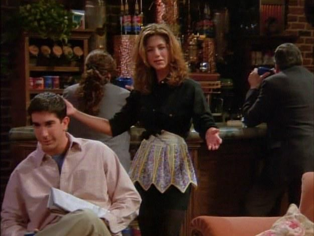 My favourite Rachel Green waitress look! in 2019