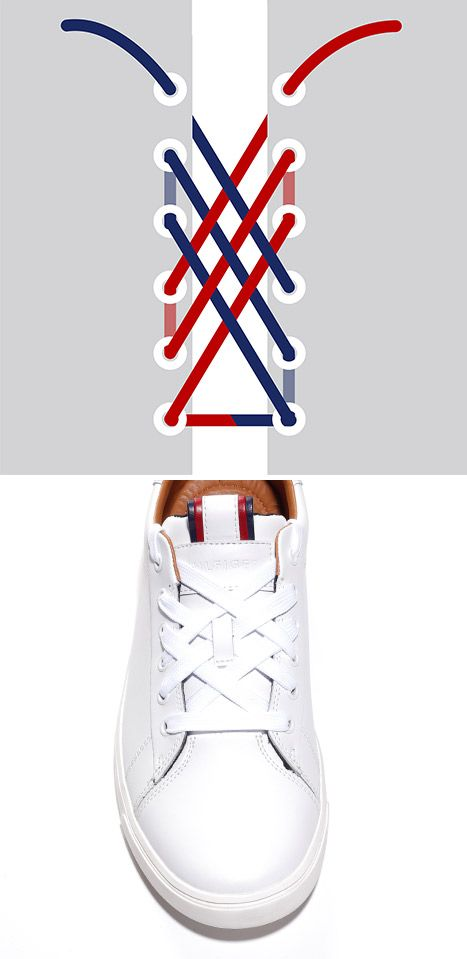 Tommy Hilfiger USA - HOW TO LACE YOUR KICKS!!  1933029f4d7