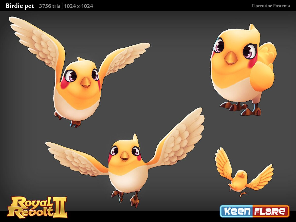 Artstation Royal Revolt 2 Character Birdie Pal Florentine Postema Revolt 2 Pals Character