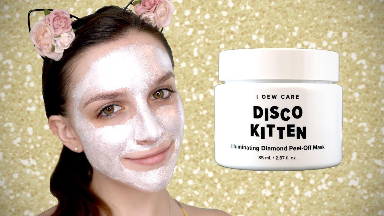 Beauty Talk Chrome Mask Review Disco Kitten Diamond Peel Off Mask Skincare Mask Discokitten Chrome P Beauty Inspiration Makeup Beauty Talk Skin Care