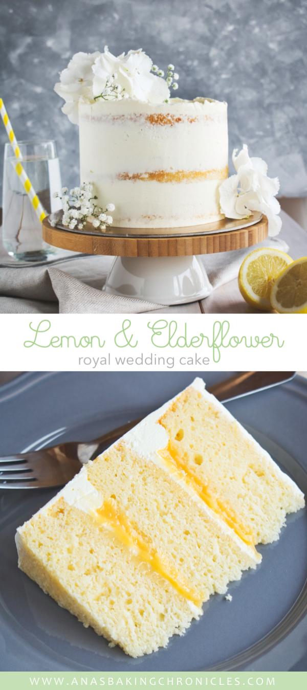 This royal wedding inspired Lemon Elderflower Cake is going to rock your world! …