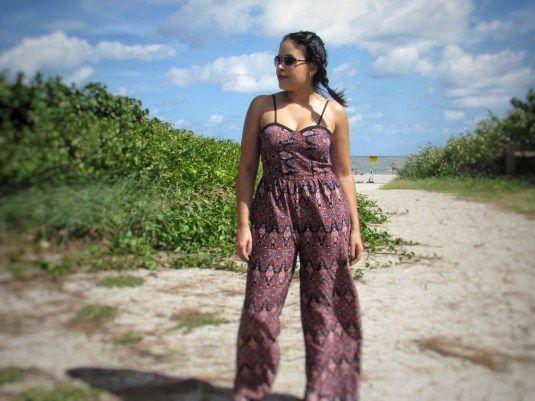 Melanie Affects Jumpsuit post