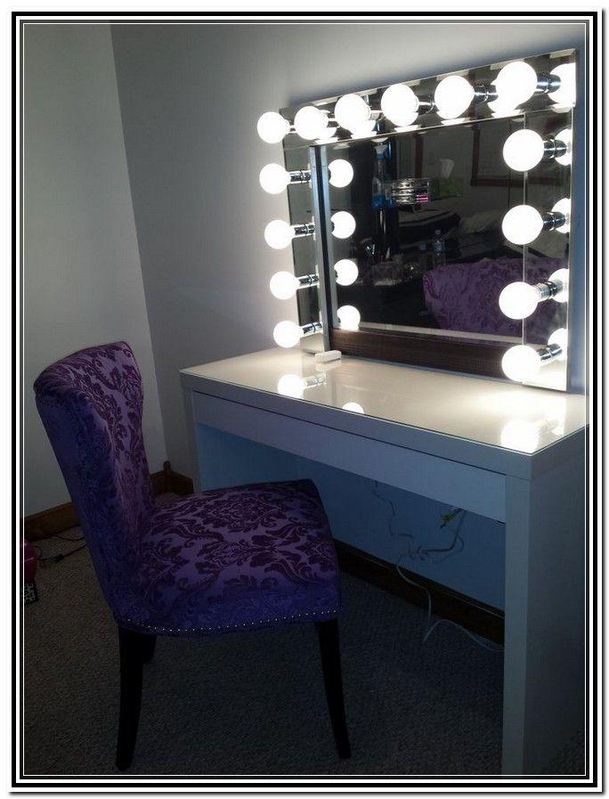Diy Vanity Mirror Ikea | For Room | Pinterest | Vanity Mirror Ikea