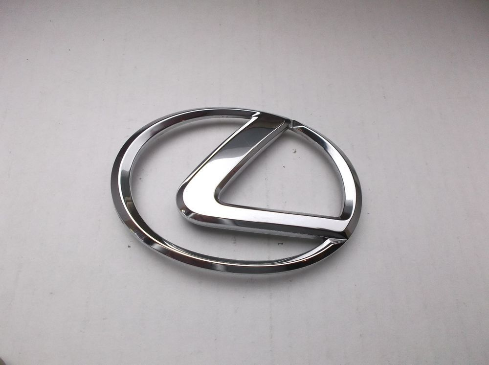 92 96 Lexus Es300 Rear Trunk Center Chrome Emblem Logo Badge Sign Symbol Oem C1 Lexus Honda Logo Vehicle Logos Emblems
