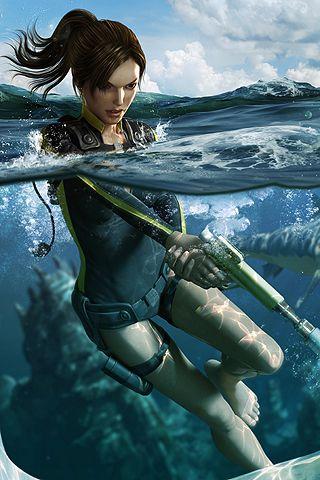 Tomb Raider Lara Croft Android Wallpaper Hd Art Croft