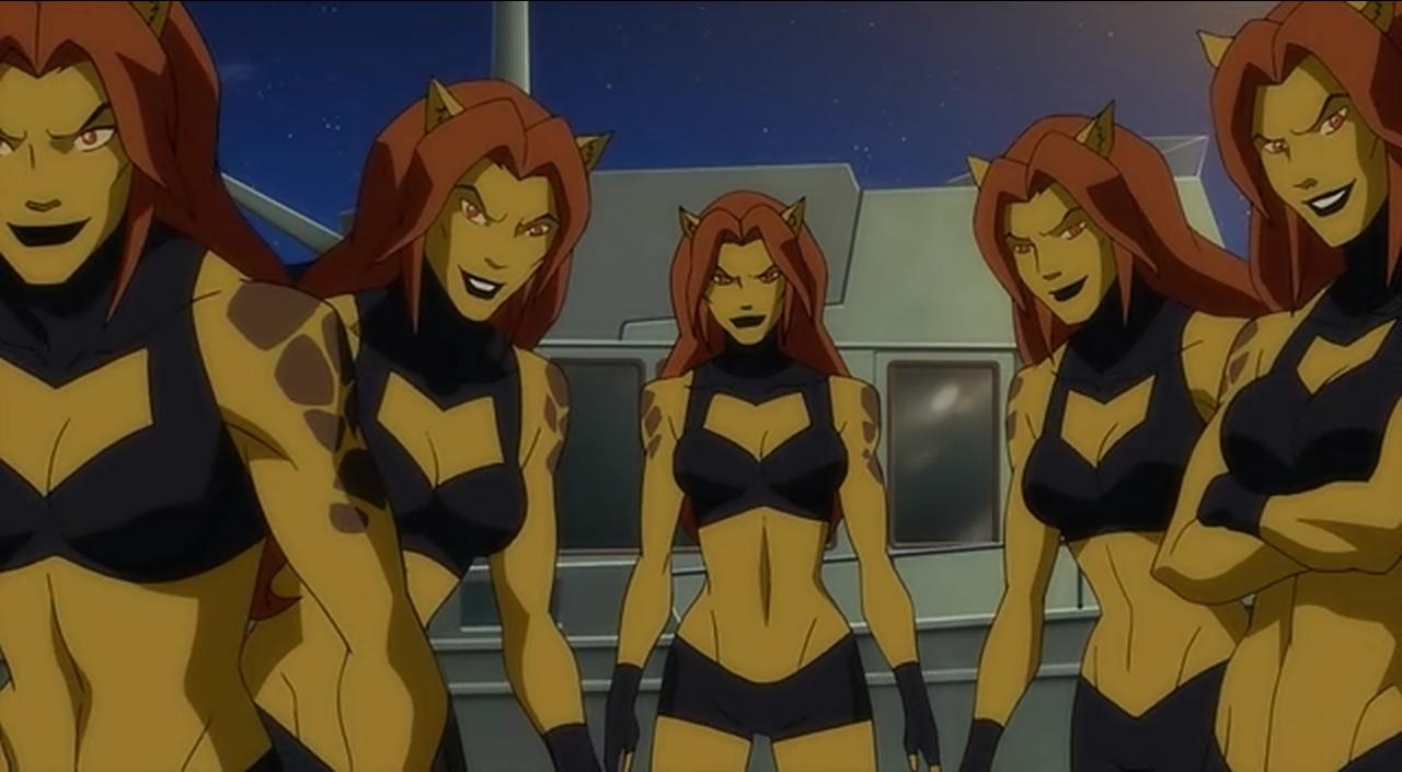 Justice League Doom Hallucinated Cheetah Duplicates 1415855178163 Png 1280 705 Cheetah Comics Justice League Doom Justice League