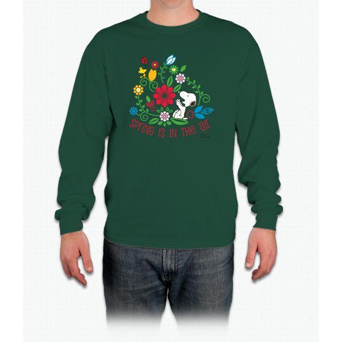 Snoopy Spring Tee Long Sleeve T-Shirt