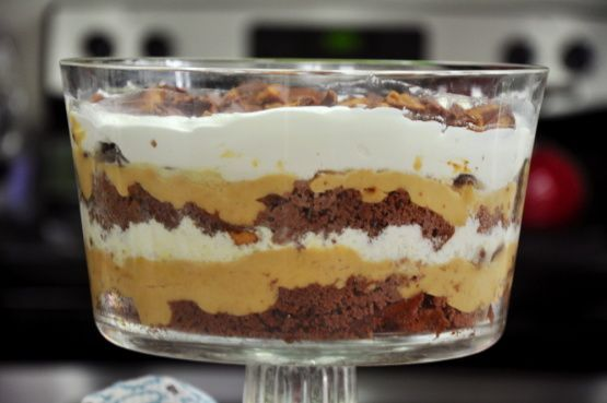 Make this Peanut Butter Cup Trifle in just 15 minutes.