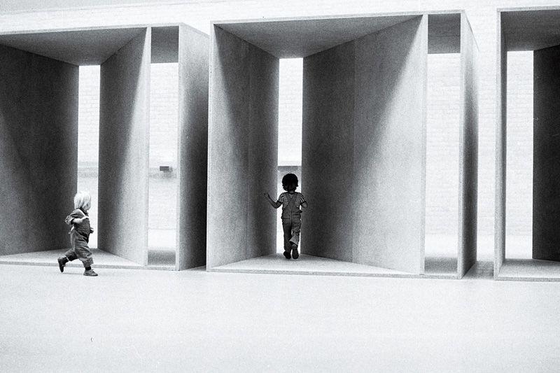 Donald Judd, Untitled, in Kröller-Müller, 1980
