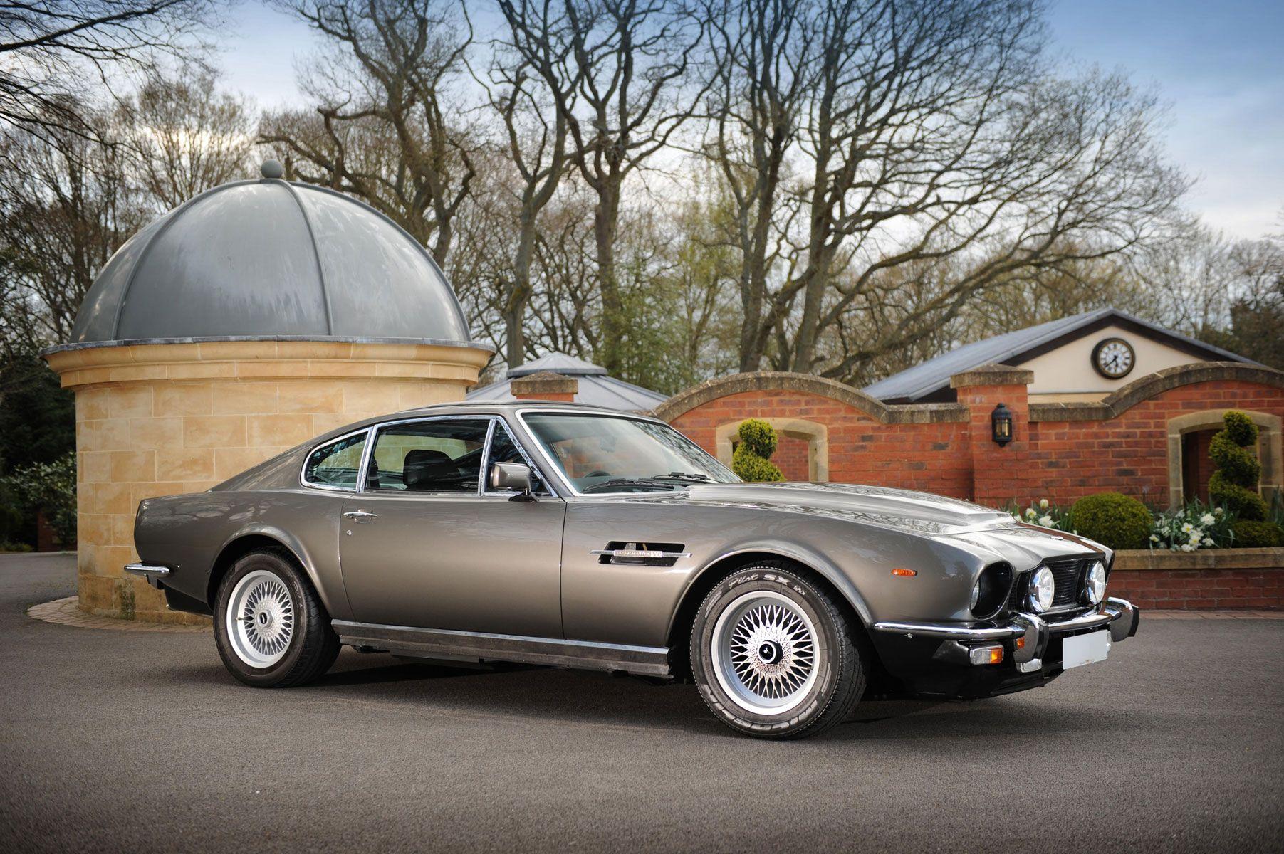Vantage Saloon James Bond Special Edition 1985 Bond Cars Aston Martin Cars Aston Martin