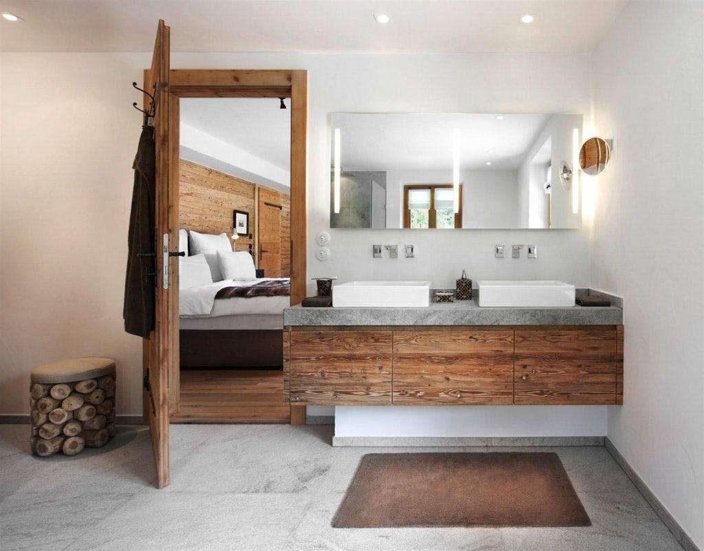 Charmant Badezimmer Modern Rustikal