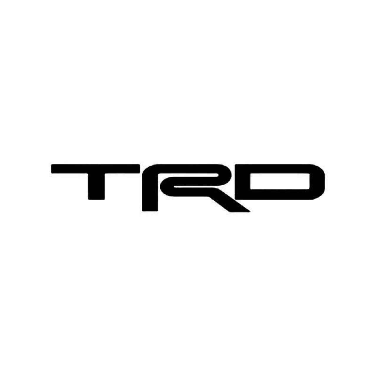 Trd Toyota Vinyl Decal Sticker