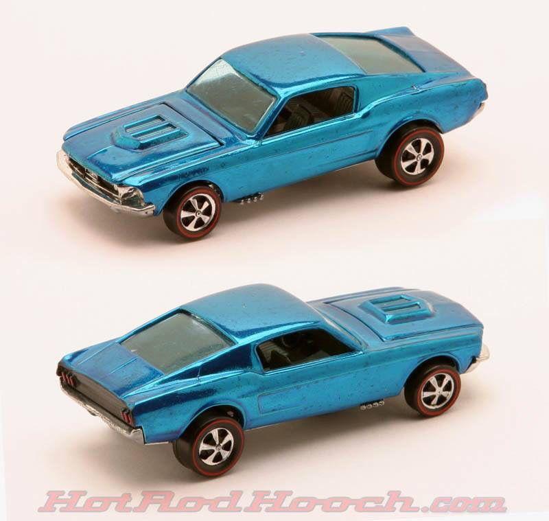 Vintage 68 Mustang Hot Wheels Redline Hot Wheels Toys Hot