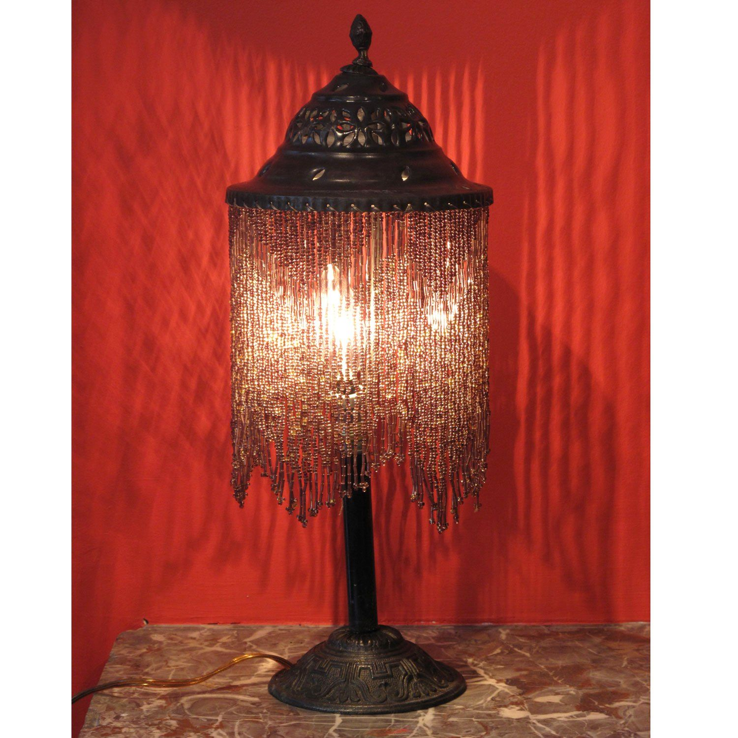 Picture of Style 597: Syrian beaded table lamp. | Wish list ...