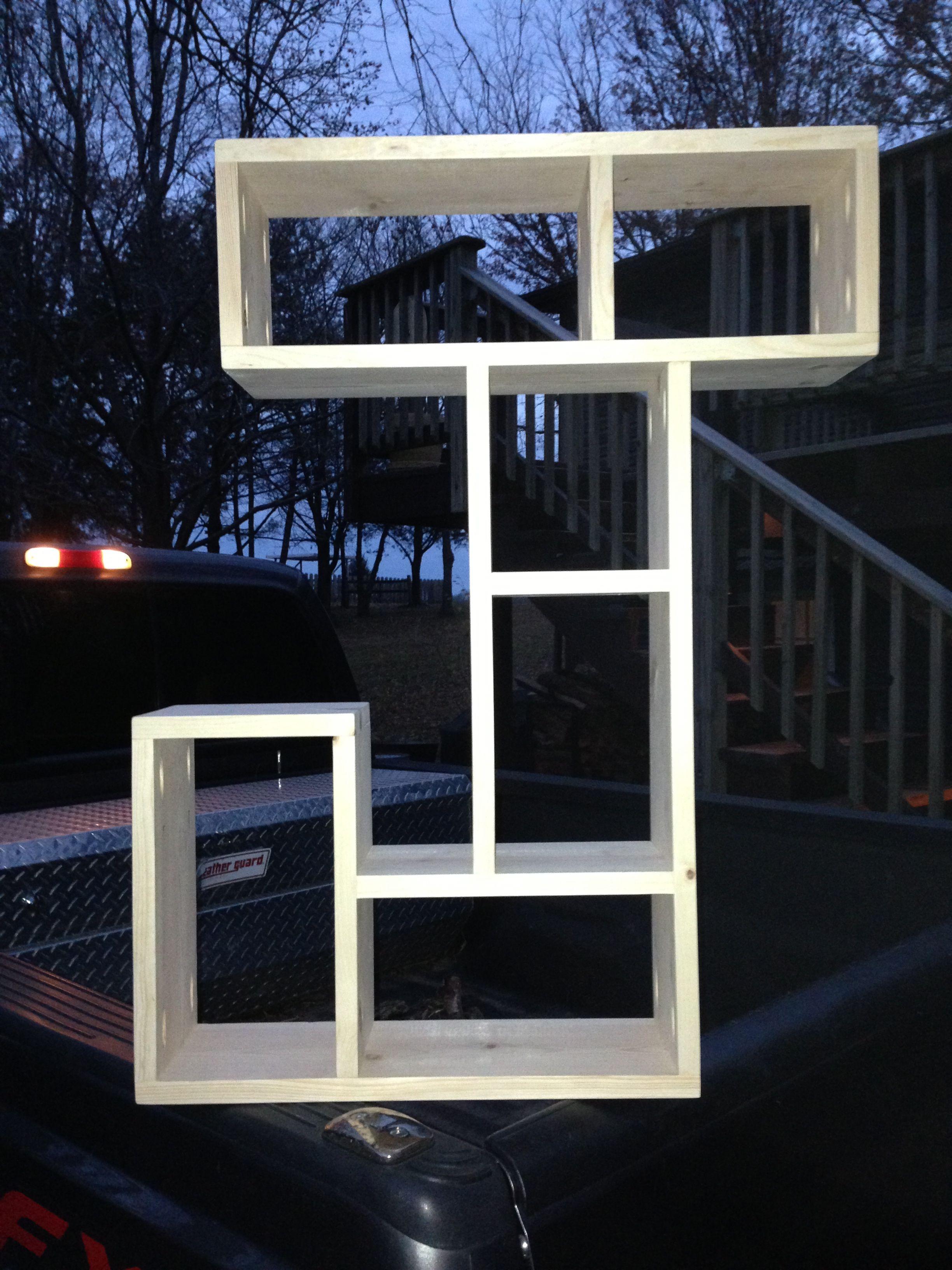 Letter J Shelf