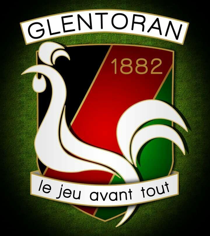 Glentoran British Football Irish Football Soccer Logo