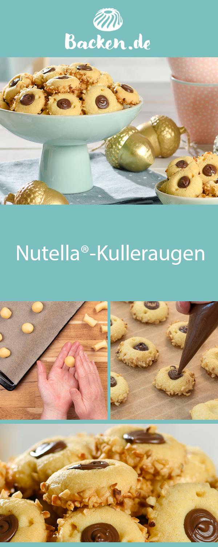 Nutella®-Kulleraugen #nutellakekse