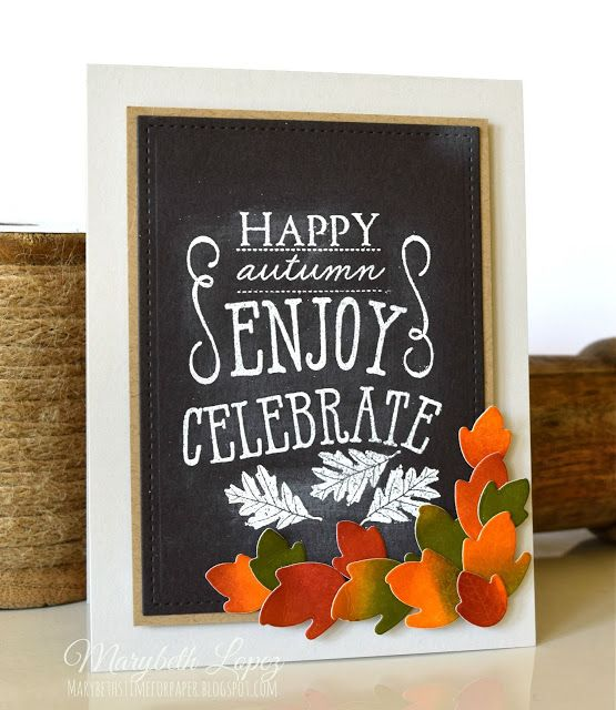 Marybeth's time for paper: Happy Autumn Hop - PTI