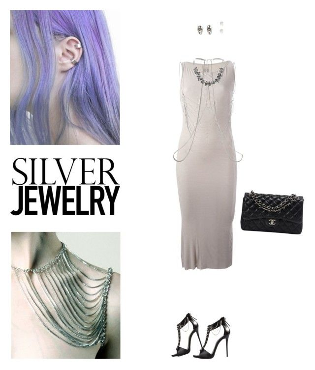 """""""Sweet Silver Jewelry"""" by sarah-who ❤ liked on Polyvore"""