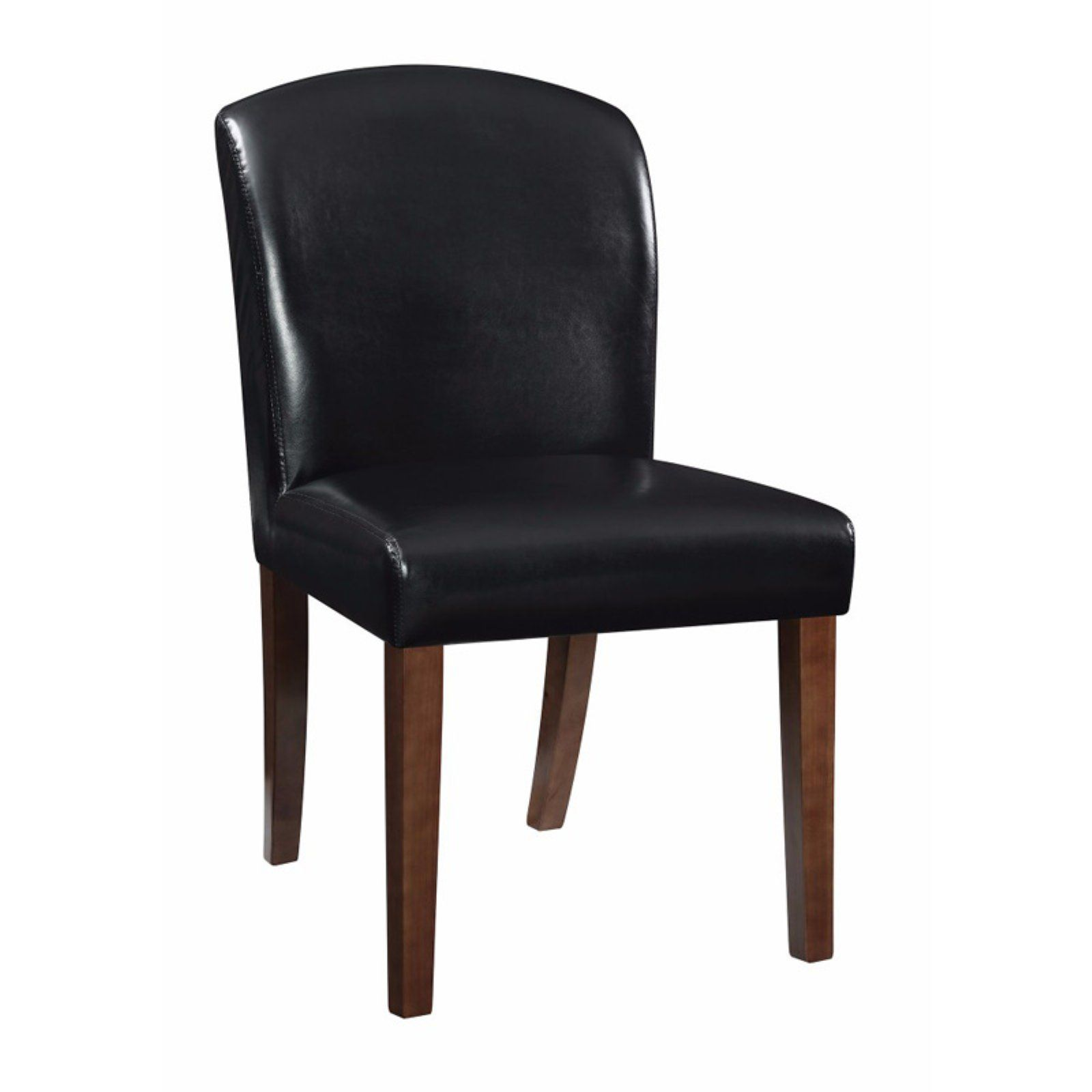 Faux Leather Dining Chairs Virco Free Shipping Benzara Side Chair Set Of 2 In 2019 Products